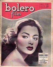 rivista fotoromanzo - BOLERO - Anno 1951 Numero 202 MARINA BERTI