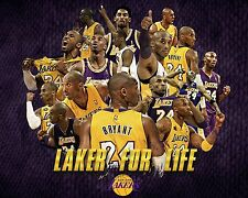 Kobe Bryant Poster Los Angeles Lakers Wall Art Home Decor 16x20 Inches