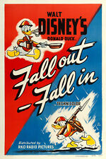 "Donald Duck in Fall Out-Fall In  Movie Poster Replica 13x19"" Photo Print"