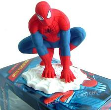 8cm SPIDERMAN ICING SUGARPASTE MODEL BIRTHDAY CAKE TOPPER DECORATION