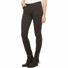 NEW Andrew Marc Women's Ponte Stretch Pant Semi-fitted Tapered Leg Charcoal 4