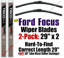 "2012-2016 Ford Focus Wiper Blades 2-Pack - Correct 29"" Length vs 28"" - 19290x2"