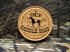 KIWI Saddle Soap For Cleaning Boots,Shoes,Saddles & Smooth Leather Softens Leath