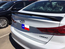 Fits: Hyundai Elantra Custom 2017+ 2-Post Rear Spoiler Primer Finish USA MADE