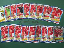 Topps Champions League 2016 17 all 18 Benfica Cards Logo Team Mates Goal King