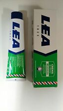 Lea MENTHOL shaving cream soap LARGE 150ml tube UK stock Imported from Spain