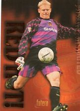 MANCHESTER UNITED Futera Red Hot BRONZE insert PETER SCHMEICHEL
