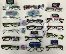 WHOLESALE LOT- 100 FOSTER GRANT Magnivision READING GLASSES assorted 1.00 - 2.75