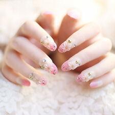 24pcs Acrylic Design False French Nails Full Fake Nail tips Art Cover Manicure