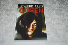 Coven by Edward Lee (2005, Paperback) Signed