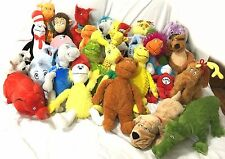 31 Dr. Seuss Kohl's Cares for Kids Plush Stuffed Animals Full Collection Lot