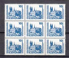 DDR, 3344 I, 9ner Block, postfrisch, Plattenfehler I, einwandfrei,siehe Scan