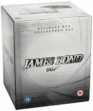 James Bond 007 Ultimate DVD Collector's Set 1962 DVD Sean Connery Brand NEW
