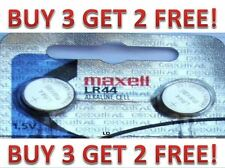 LR44 Maxell (2 piece) LR44 MAXELL A76 L1154 AG13 357 NEW BUY 3 GET 2 FREE!!