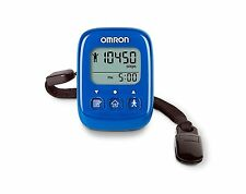 Omron Alvita HJ325 Blue Tri-Axis Alvita Ultimate Pedometer Step Counter