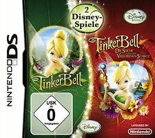 NINTENDO DS TinkerBell Fairies 2 Spiele Disney *TOP-Spiel*