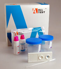 2 x MALE FERTILITY TEST HOME SPERM COUNT TEST + 2 FEMALE FSH KITs by ALLTEST