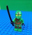 Lego GREEN NINJA minifig Ninjago Sword Katana minifigure