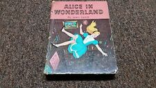 LEWIS CARROLL  ALICE IN WONDERLAND COPYRIGHT MCMLV BY WHITMAN PUBLISHING COMPANY