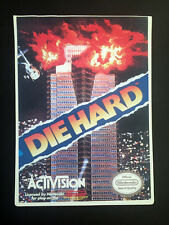 Vintage Toys 'R' Us VIDPRO CARD for DIE HARD for NES by  ACTIVISION - Nintendo