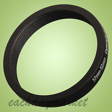 57mm to 52mm 57-52mm 57-52mm 57-52 Stepping Step Down Filter Ring Adapter