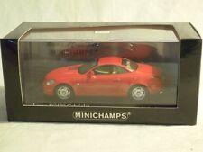 Minichamps 400166134: Lexus SC430, 2001 Rot, limitiertes Modell 1/43, NEU & OVP
