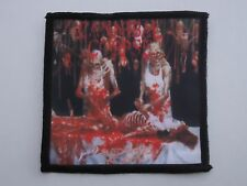 CANNIBAL CORPSE BUTCHERED AT BIRTH SUBLIMATED PATCH