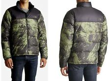 THE NORTH FACE Men's Nuptse Black Ink Green 700 Down Jacket sz M $220