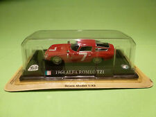 DEL PRADO  1:43  ALFA ROMEO  TZ1  1964 -   IN BOX  -  IN GOOD CONDITION