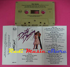 MC DIRTY DANCING O.S.T Bill medley Eric Carmen Merry Clayton no cd lp dvd vhs