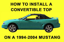 Mustang 94-04 How to Install a Convertible Top on DVD
