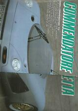 SP21 Clipping-Ritaglio 1995 Isdera Commendatore 112i