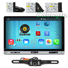 "Pure Android 4.4 7"" Double 2DIN Car Radio GPS DVD Player WIFI IPOD USB APP 3G BT"