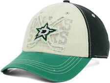 Dallas Stars NHL Rattled Old Time Hockey Strapback Adjustable Hat Cap EST. 1993