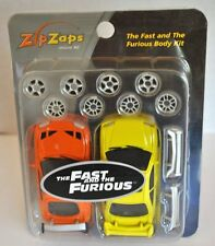 "Zip Zaps Micro Remote Control Car ""The Fast & the Furious"" Movie Body Kit - NEW!"