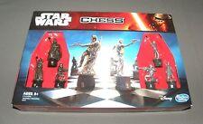 Star Wars Chess Board Family Game Set Disney Hasbro The Force Awakens Boba Fett