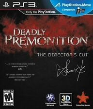 Deadly Premonition - Director's Cut Sony PlayStation 3 PS3 NEW FAST FREE Ship