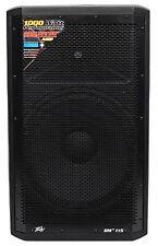 """Peavey DM 115 15"""" 1000W Painted Wood Active Powered PA Speaker+Digital DSP DM115"""