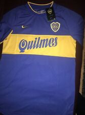 Retro boca juniors 2000 toyota cup football shirt jersey taille m