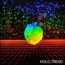 Holographie, Hologramm, 3D Bild, Earth, Erde, Computer Hologramm, Sternenhimmel