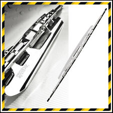 STAINLESS STEEL CHROME WIPER BLADE WITH SPOILER - 18""