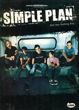 SIMPLE PLAN  Songbook  STILL NOT GETTING ANY Guitar tab tablature
