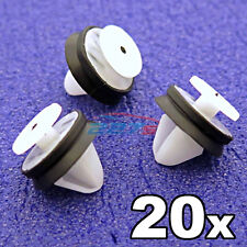 20x Peugeot Door Card, Trim Panel & Pillar Clips with rubber seal- 6991.Y8