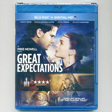 Dickens' Great Expectations 2012 PG-13 movie, new Blu-ray Bonham-Carter, Fiennes