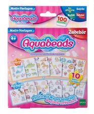 Aquabeads 79428 Motiv-Vorlagen NEU & OVP