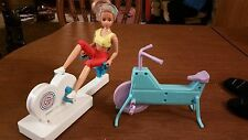 Barbie Doll Size Exercise Equipment 2 Bikes