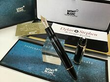 montblanc meisterstuck no149 fountain pen with 18K F=fine nib NEW never used