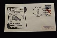NAVAL SPACE COVER 1966 GEMINI GTA-10 RECOVERY SHIP USS SEVERN (AO-61) (779)