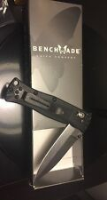 New Benchmade 530 Pocket Knife Pardue Design Axis Lock Spear Point Plain Edge