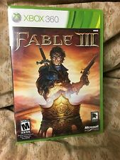 Fable III Xbox 360 Role Playing Video Game Brand New Sealed